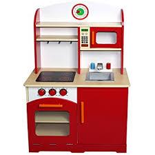 amazon cuisine enfant infantastic cuisine enfant en bois 61 x 33 x 93 cm jeu d imitation
