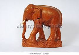 carved wooden elephant stock photos carved wooden elephant stock