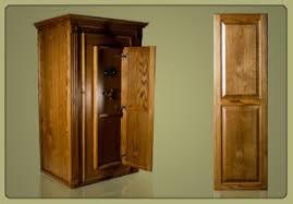 Wood Gun Cabinet Is It A Gun Cabinet Or A Safe Gun Safe Haven