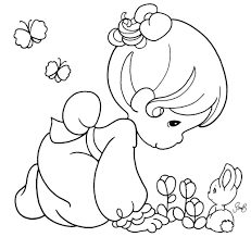 precious moments angels coloring pages momentos preciosos ou