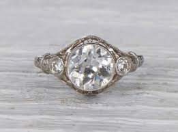 deco engagement rings erstwhile jewelry nyc
