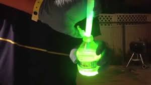 real glow in the dark water bottle no blacklight youtube