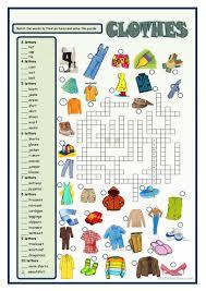 851 free esl clothes fashion worksheets