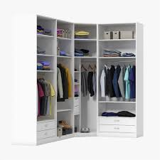 hang 3d wardrobe with clothes cgtrader