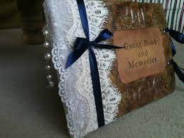 book binding how to make a wedding guest book youtube