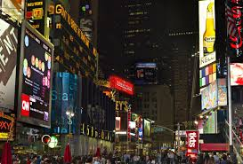 New York City Time Square Map by Crown Plaza U2013 Times Square All Tickets Inc