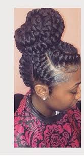 braided pin up hairstyle for black women ghana braids ghana braids with updo straight up braids braids
