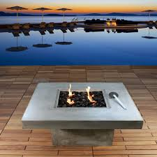 Indoor Fire Pit Coffee Table Coffee Table Fire Pit And Coffee Table Zement By Bauhaus Zb 14950