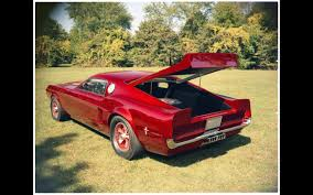 1968 mustang rear end 1966 ford mustang mach i concept 1968 revised rear end