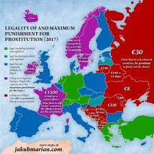map eroupe the map of prostitution laws in europe indy100