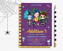 Halloween Costume Party Invitations Halloween Costume Party Invitations Coraline Birthday