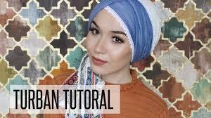 tutorial hijab nabiilabee turban tutorial eid look tutorial nabiilabee youtube