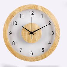 compare prices on wall wood clock online shopping buy low price