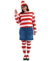 where s waldo costume wheres waldo wenda costume plus size costume womens