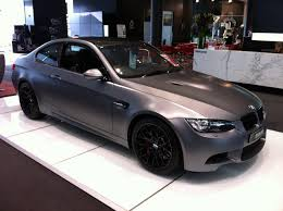 matte grey bmw decadent wedding planning and car hire