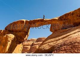 35 meters in feet a bedouin boy atop the 100 foot tall 35 meters burdah rock bridge