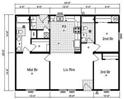 simple floor plans simple house floor plans with measurets homeca