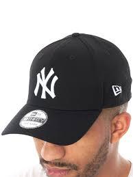 nw era new era black white league basic 39thirty new york yankees curved
