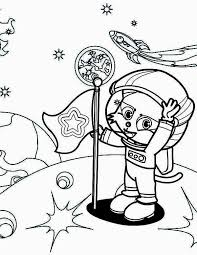 astronaut coloring page a cute cat astronaut on the moon coloring page download u0026 print