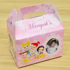 personalized boxes baby disney princesses themed personalized favor boxes gift