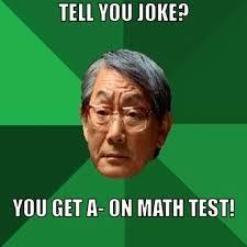 Test Meme - mathjoke haha humor joke mathmeme meme funny test a math funny