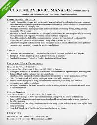 resume template for customer service customer service resume