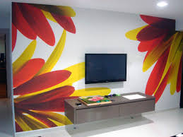 diy creative wall painting ideas home interior design paint for