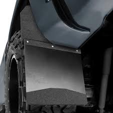 3500 Dodge Truck Mud Flaps - husky 17103 kickback black mud flaps with textured black top