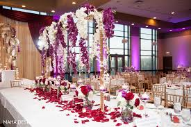 Indian Wedding Reception Themes by Chicago Il South Asian Wedding By Maha Designs Maharani Weddings