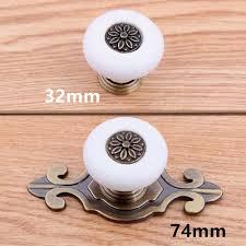 kitchen cabinet door handles and pulls 74mm bronze knob with backplate dresser kitchen cabinet door