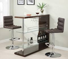 Small Bar Table Collection 100166 Bar Height Dining Table Set