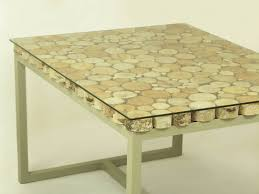 Diy Wooden Coffee Table Handmade Small Birch Slices Wooden Coffee Table By Freetreestudio