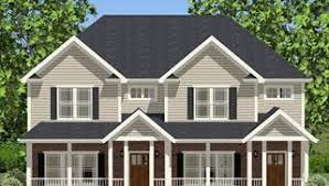 Multi Family Apartment Floor Plans Multi Family House Plans Duplex Apartments U0026 Townhouse Floorplan