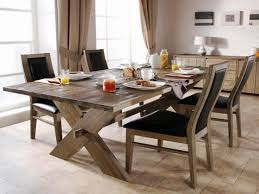 classic rustic dining room sets rectangle dining table 4 wooden
