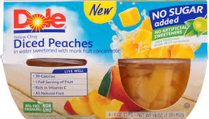 dole fruit bowls dole fruit bowls diced apples in 100 juice 4 ounce pack of 4