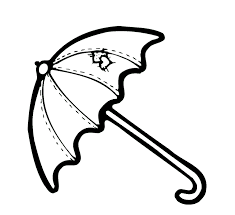 umbrella coloring pages getcoloringpages