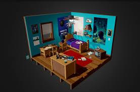 tim kaminski star wars bedroom diorama
