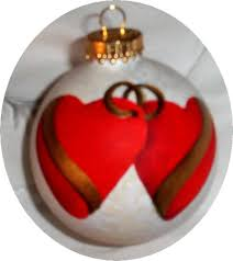 personalised hand painted christmas ornaments
