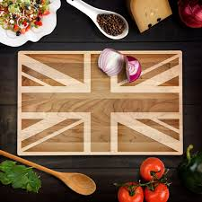 Military Home Decorations by Rustic Home Decor British Flag Cutting Board Union Jack Flag Wood