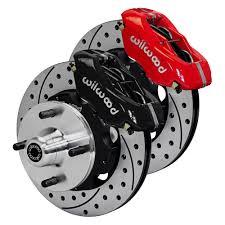 1966 mustang disc brakes wilwood mustang front disc kit dynalite 4 piston 10 75 65 66