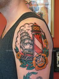 Lighthouse Tattoo Ideas Lighthouses And Ships Tattoos Google Search Tattoo Ideas