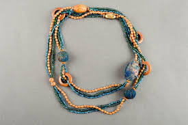 handmade bead necklace designs images  jpg