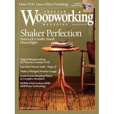 popular woodworking magazine december 2016 featuring jojo wood