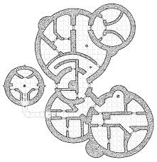 tuesday map the prismatic fortress rpg fantasy map and dungeon