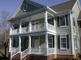homes with porches two porch house plans image of local worship