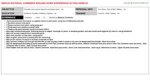 Material Handler Sample Resume by Baggage Handler Cover Letter