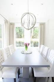 white and gray dining table gray pedestal dining table with white tufted dining chairs