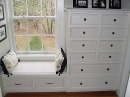 Built In Bookshelves With Window Seat Best 25 Built In Dresser Ideas On Pinterest Closet Dresser