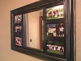 how to make a mirrored photo frame hgtv