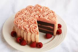 raspberry chocolate soap cake one leaf soap